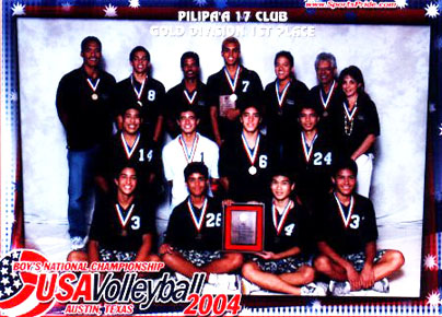 Pilipa'a 17's win Gold Medal at USA Volleyball Junior Olympics