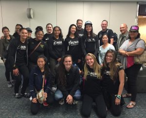 Pilipa'a 15's and 'ohana arriving in Orlando, Florida